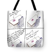 At The Faa Offices Tote Bag