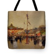At The Fair  Tote Bag