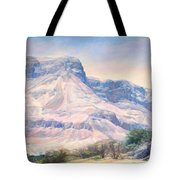 At The Foot Of Mountains Tote Bag