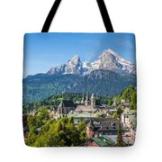 At The Foot Of The Watzmann Tote Bag