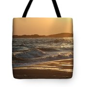 At The Golden Hour Tote Bag