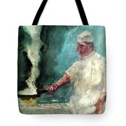 At The Griddle Tote Bag