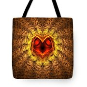At The Heart Of The Matter Tote Bag