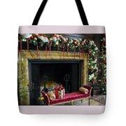 At The Hearth Of Christmas Tote Bag