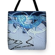 At The Iditarod Tote Bag