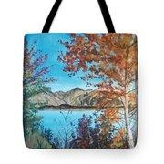 Fall Aspens Tote Bag