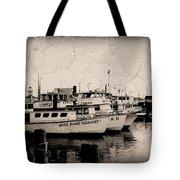At The Marina - Jersey Shore Tote Bag