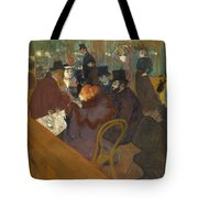 At The Moulin Rouge 1892 95 Tote Bag