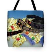 At The Movies  Tote Bag