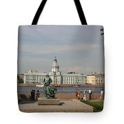 At The Newa - St. Petersburg Russia Tote Bag