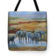 At The Oasis  Tote Bag