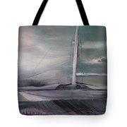 At The Pier Tote Bag by Gregory Dallum