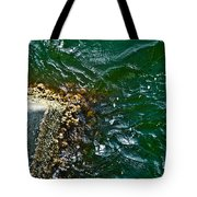 At The Pier Tote Bag