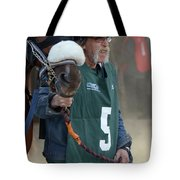 At The Racetrack 5 Tote Bag