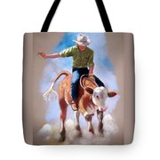 At The Rodeo Tote Bag