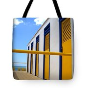 At The Seashore 3 Tote Bag