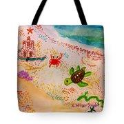 At The Seashore Tote Bag