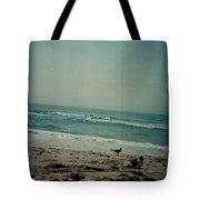 At The Seashore. Tote Bag