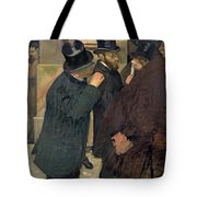 At The Stock Exchange Tote Bag