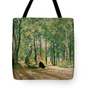 At The Summer Cottage Tote Bag