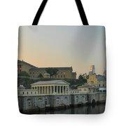 At The Waterworks - Phildelphia Tote Bag