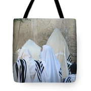 At The Western Wall Tote Bag