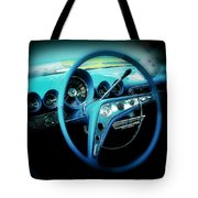 At The Wheel Tote Bag