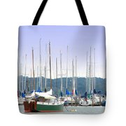 At The Yacht Club Tote Bag