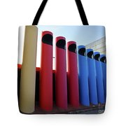 A T And T Switching Station, Columbus, Indiana Tote Bag