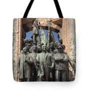 Ataturk Statue Tote Bag
