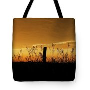 Atchison Sunset Tote Bag