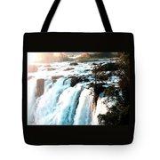 Waterfall Scene For Mia Parker - Sutcliffe L A S Tote Bag