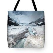 Athabasca Glacier, Alberta, Canada Tote Bag