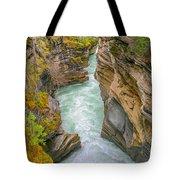 Athabasca River Canyon Tote Bag
