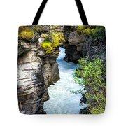Athabaska River Slot Canyon Tote Bag