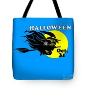 Atheist Halloween Witch Tote Bag