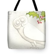 Athenian Owl Tote Bag