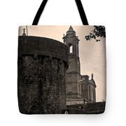 Athlone Castle And Church Tote Bag
