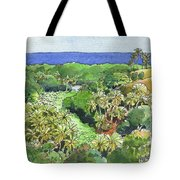 Atiu Lake View Tote Bag
