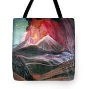 Atl: Volcano, 1943 Tote Bag