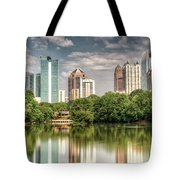 Atlanta As Viewed From Piedmont Park Tote Bag