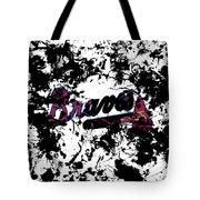 Atlanta Braves 1d Tote Bag