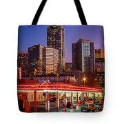 Atlanta Drive-in Tote Bag