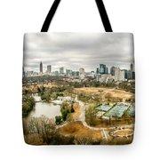 Atlanta Georgia City Skyline Tote Bag