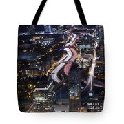 Atlanta Georgia - Evening Commute Tote Bag