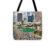 Atlanta Georgia Thrives Tote Bag