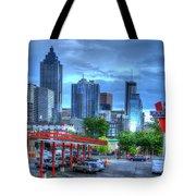 Atlanta Landmark The Varsity Art Tote Bag