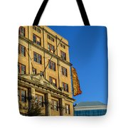 Atlanta Life Sign In Birmingham Alabama Tote Bag