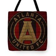 Atlanta United Barn Door Tote Bag