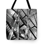Atlantic Avenue Arts Block Building Tote Bag